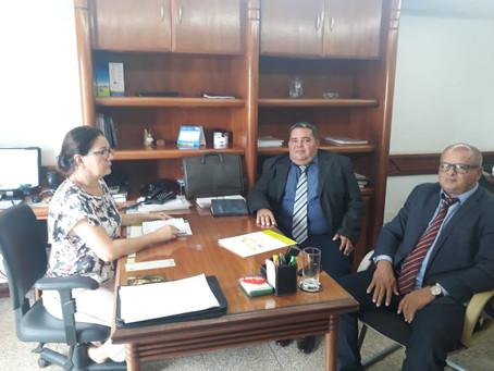 Prefeito Isaac Lima cumpre agenda em Brasília em busca de recursos para o município