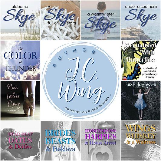 J.C. Wing books collage.jpg