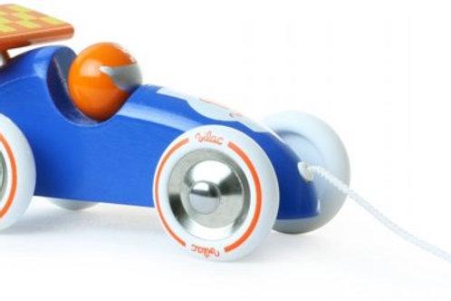 Auto oranje blauw