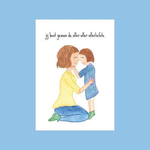 Postkaart - Jij bent gewoon...