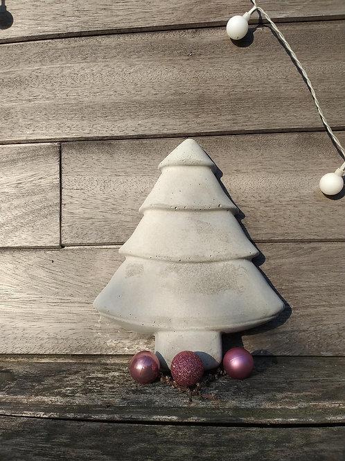 Kerstboom beton