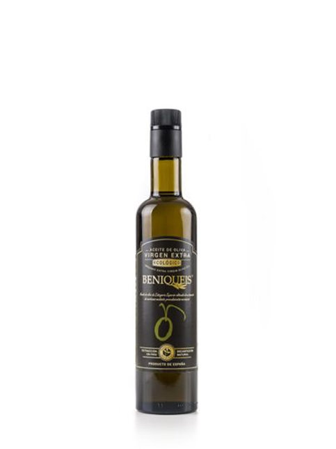Beniqueis biologische olijfolie van superieure kwaliteit, koud geperst.500 ml