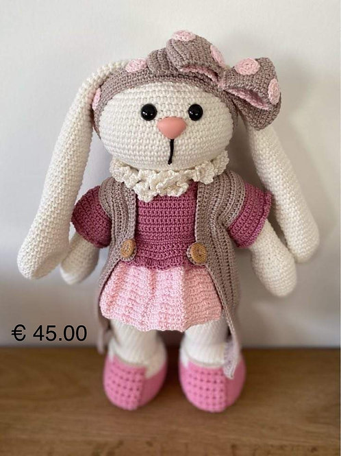 Roze konijn