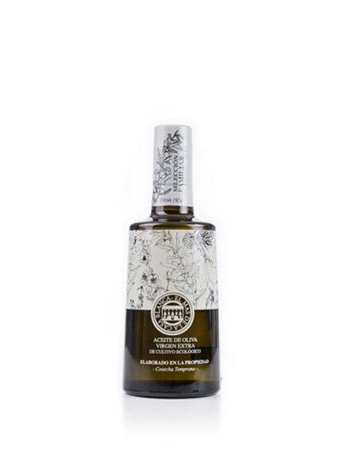 Biologische superieure olijfolie, El mas de la casa blanca 500 ml