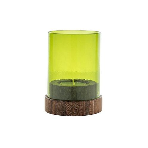 Original Home Tligh Holder Glass - Green