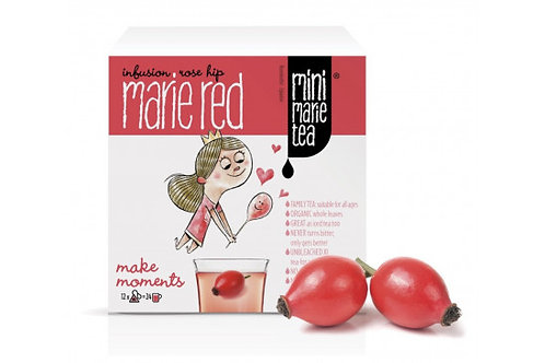 Mini Marie Tea red