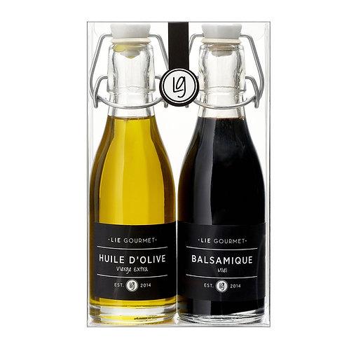 Lie Gourmet Gift box olive oil and balsamic vinegar