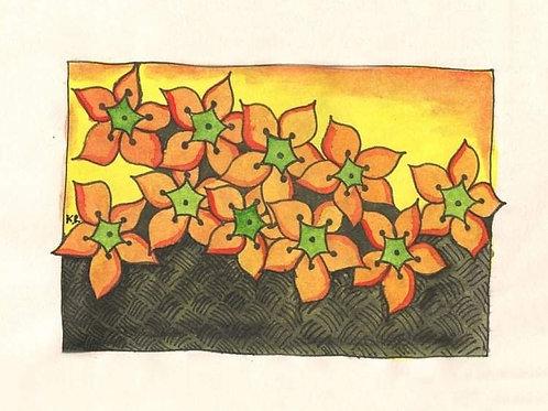Geschenkdoosje bloemenveld