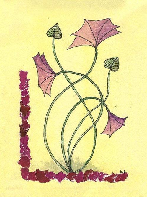 Geschenkdoosje bloem