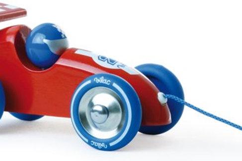 Auto rood blauw