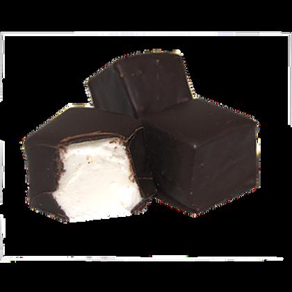 Antwerps spek / marshmallow Met chocolade