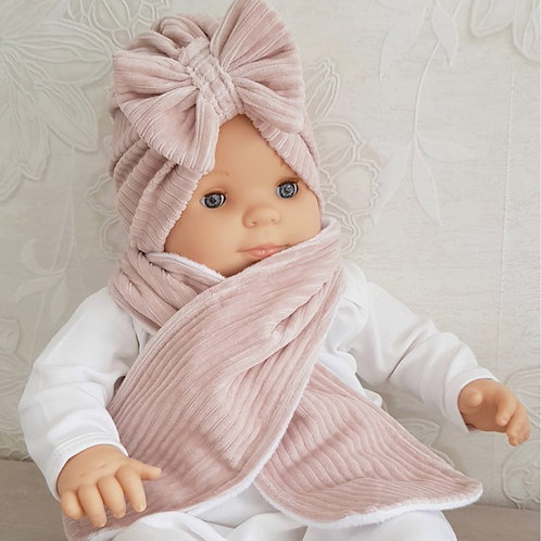 Turban met sjaal