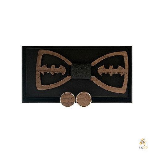 Houten strikje Batman