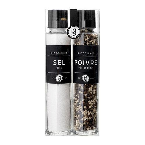 Lie Gourmet Gift box salt grinder and pepper blend
