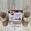 Thumbnail: Ambachtelijke chocolade bal gevuld met cacaopoeder
