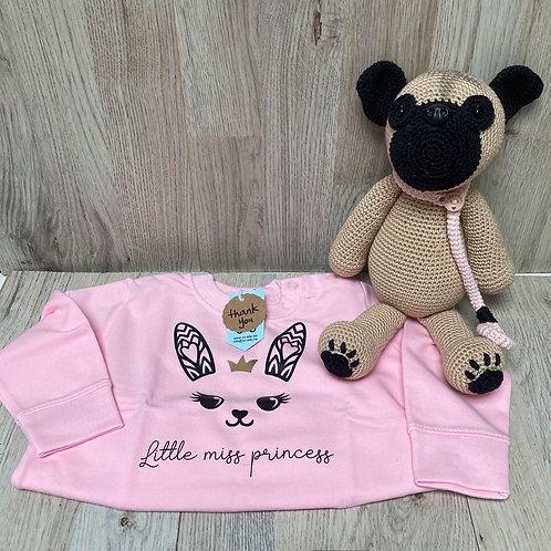 Sweater roze princess
