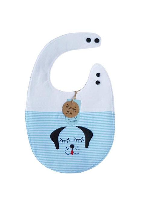 Slab wit blauw hondje XL vanaf 1 jaar