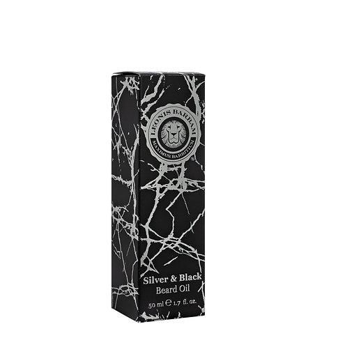 Leonis Barbam - Silver & Black Baardolie - 50ml
