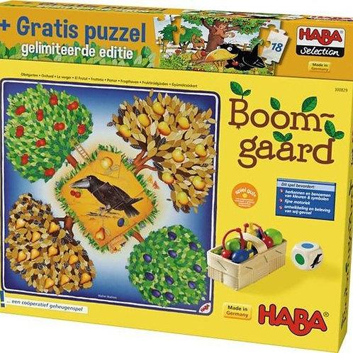 Haba Boomgaard met gratis puzzel