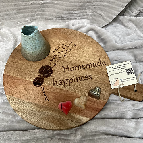 Houten serveerplank acacia zonder decoratie