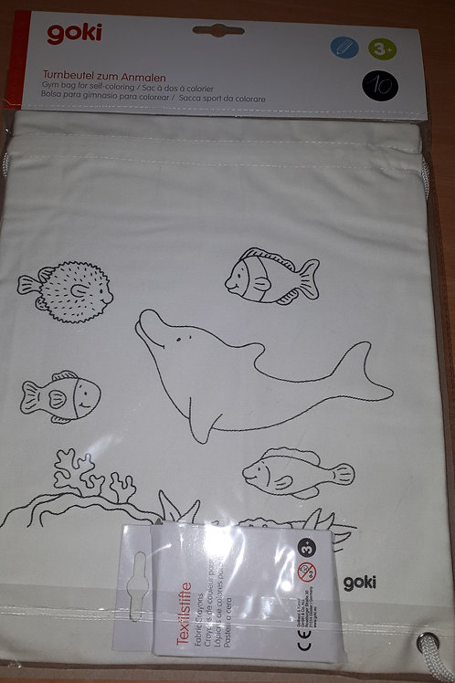 Kleru je eigen gymtas dolfijn