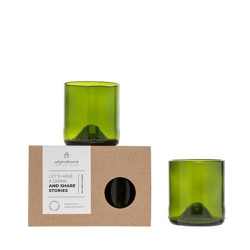Original Home Glass Green - S set 2