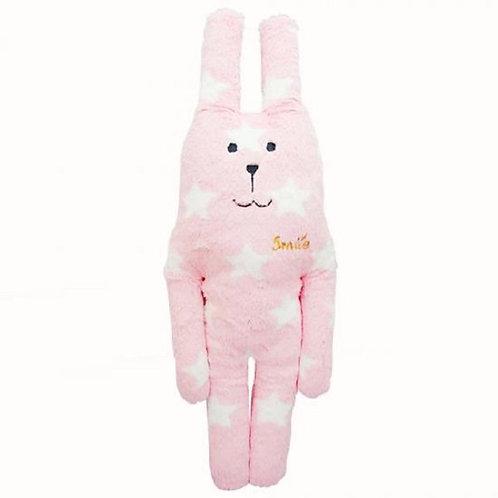 Knuffel roze ster 45 cm
