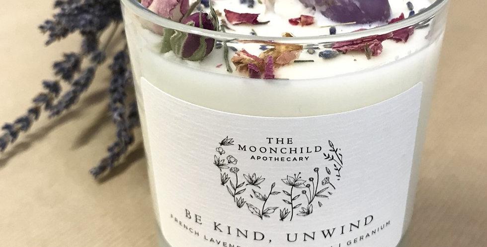 Be Kind, Unwind Candle