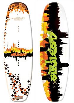 Graffitti City Wake Board
