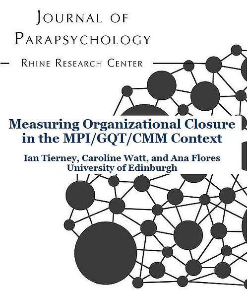 Measuring Organizational Closure in the MPI/GQT/CMM Context