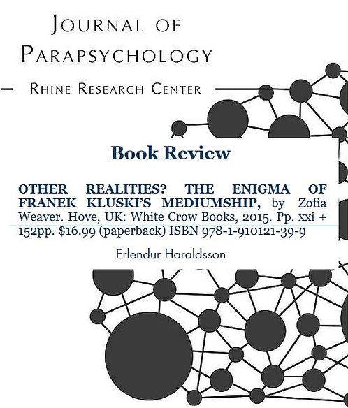 Review: Other Realities? The Enigma of Franek Kluski's Mediumship, by ...