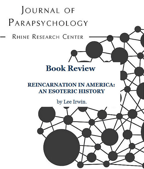 Review: Reincarnation in America: an Esoteric History, by L. Irwin