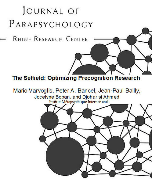 The Selfield Optimizing Precognition Research