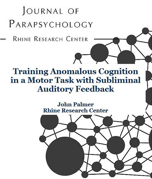 Training Anomalous Cognition in a Motor Task with Subliminal Auditory Feedback