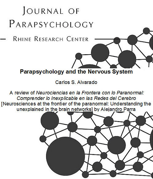 book review parapsychology and the nervous system