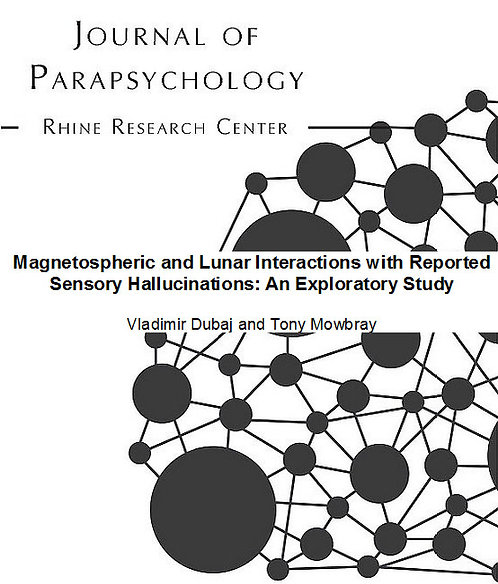 Magnetospheric and Lunar Interactions with Reported Sensory Hallucinations: An