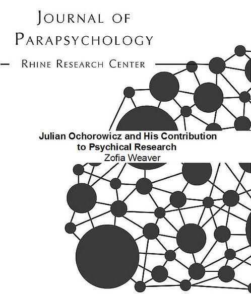 Julian Ochorowicz and His Contribution