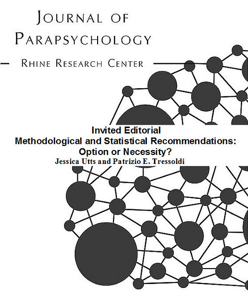Invited Editorial Methodological and Statistical Recommendations: Option or
