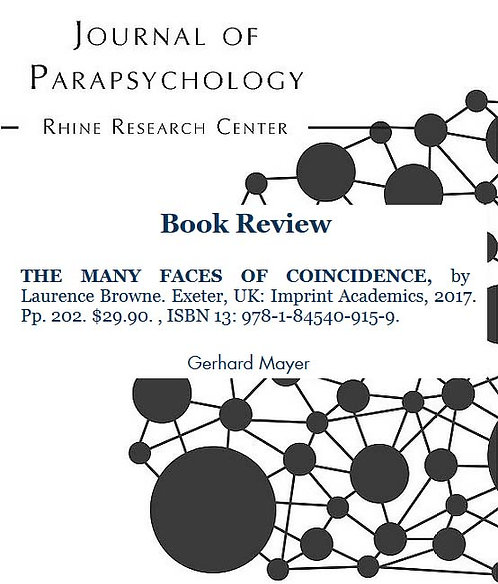 Review: The Many Faces of Coincidence, by Laurence Browne