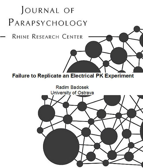 Failure to Replicate an Electrical PK Experiment