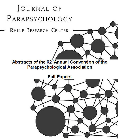 Abstracts of the 62nd Annual Convention of the Parapsychological Association