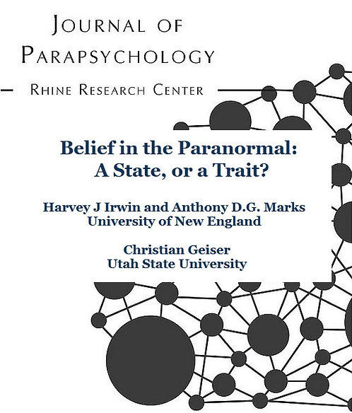 Belief in the Paranormal: A State, or a Trait?