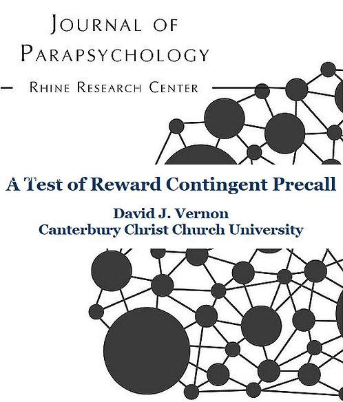 A Test of Reward-Contingent Precall
