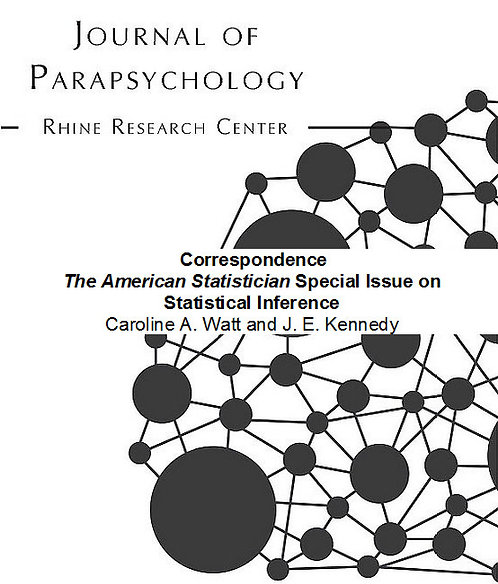 Correspondence: The American Statistician Special Issue on Statistical Inference