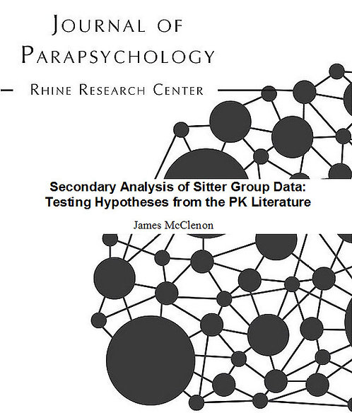 Secondary Analysis of Sitter Group Data: Testing Hypotheses from the PK Lit
