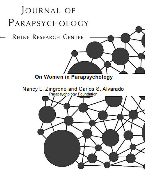 Correspondence: On Women in Parapsychology