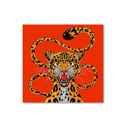 'Jaguar' Print