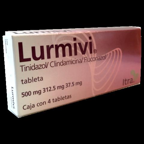 LURMIVI(Tinidiazol/Clindamicina/Fluconazol) 4 tabs