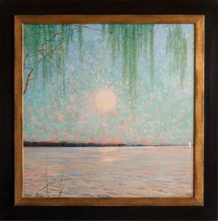 HEINRICH BASEDOW - Sonnenuntergang am Jungfernsee