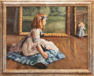 ROBERT HOFFMANN - Mädchen im Atelier